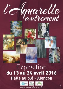 france exhibition flyer