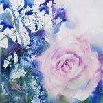 Dusky rose and delphinium blue 2